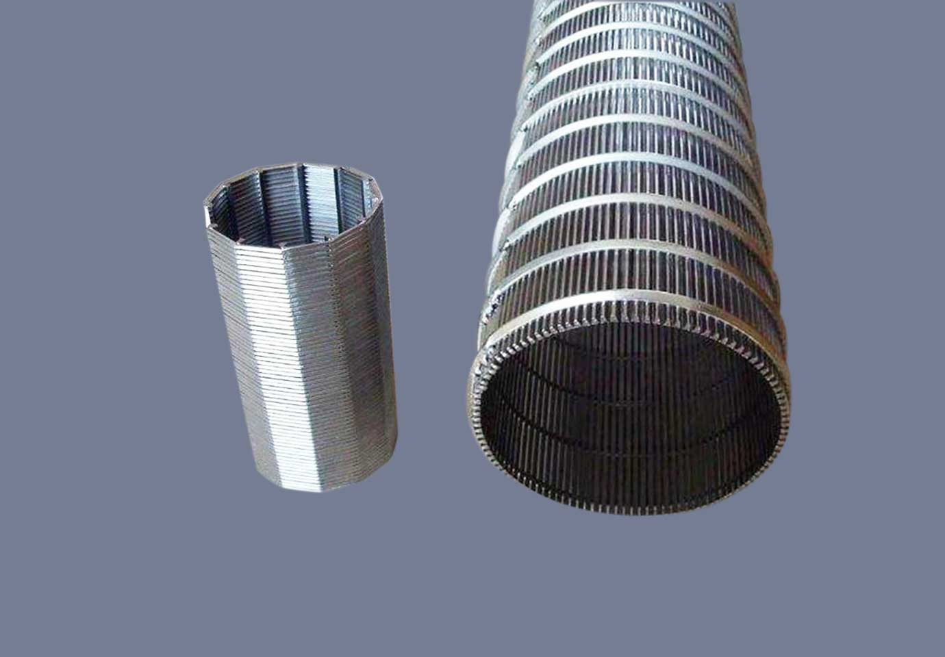 » Stainless Steel Slotted Screen