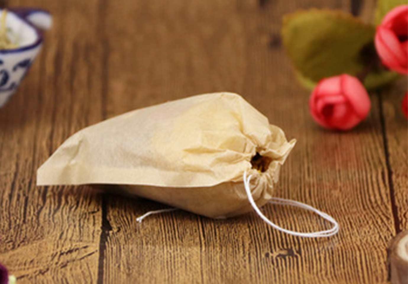 » Filter paper tea bag