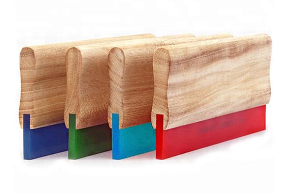 » Wood Screen Printing Squeegee