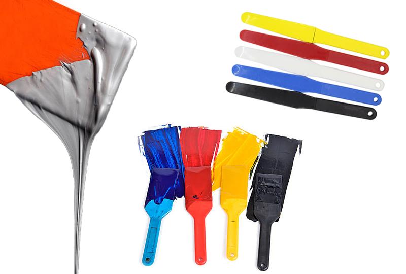 » Plastic ink knife / Plastic ink spatulas