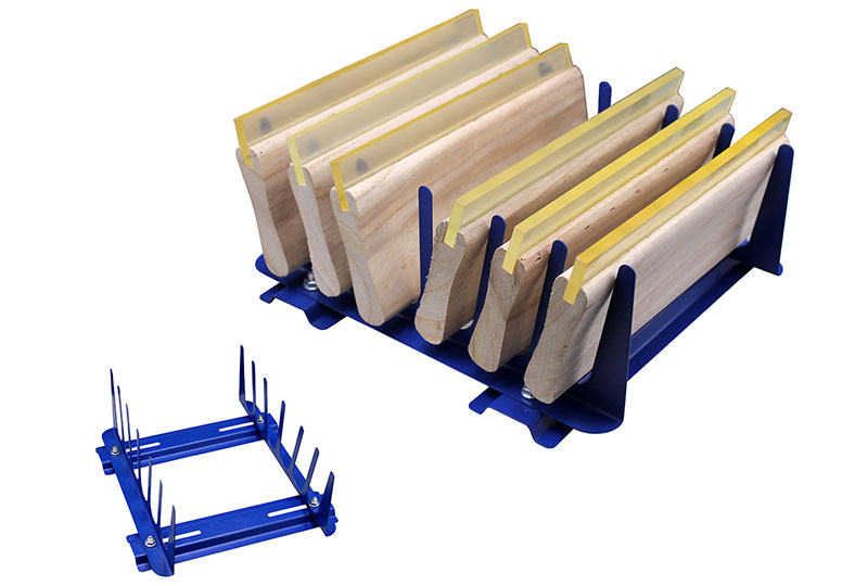 » Table type 6 layers squeegee rack