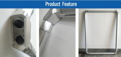 self stretched screen roller frame