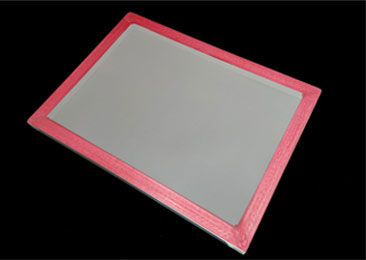SCREEN FRAME WITH WHITHE COLOR MESH