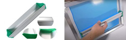 screen printing scoop coater size guide