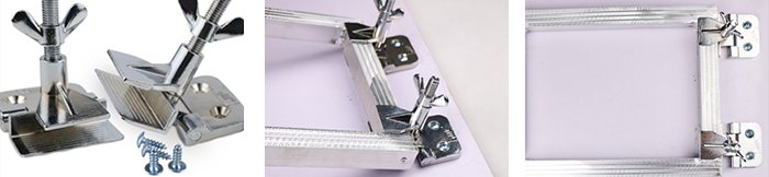 Butterfly Frame Hinge Clamp
