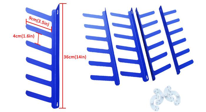 Screen Printing Squeegee Rack