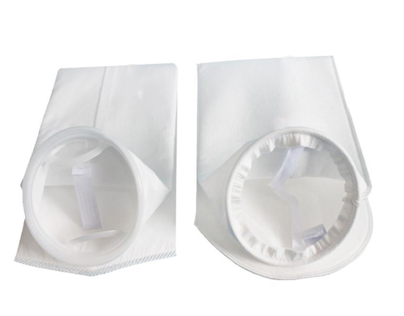 1 5 10 20 100 150 200 250 400 micron polyester pe water filter bag