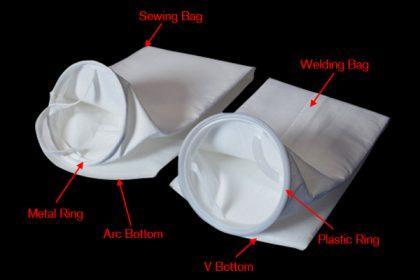 PE PET Polyester filter bag for liquid filtation