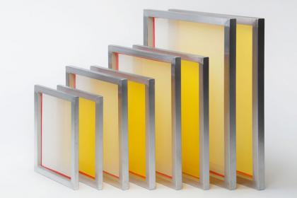 Marco de aluminio serigrafiado